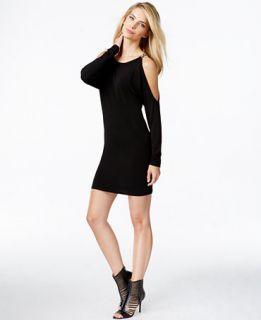 MICHAEL Michael Kors Cold Shoulder Bodycon Mini Dress   Dresses