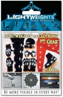 Lightweights for Clothing and Gear Power Reflectors
