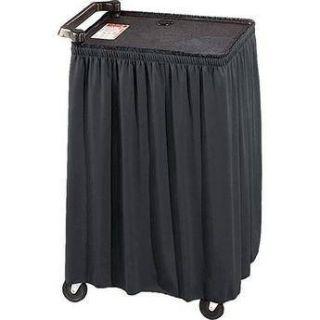 Draper C168.167 Skirt for Mobile AV Carts and Tables C168.167
