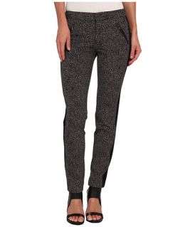 Rebecca Taylor Ava Techy Herringbone Print Pant, Clothing
