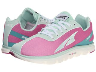 Altra Zero Drop Footwear One 2 5 Fuchsia Mint