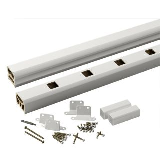 TimberTech Radiancerail Express White Composite Deck Railing Kit (Assembled: 8 ft x 3 ft)