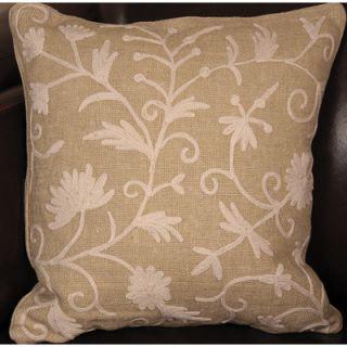 Manor Luxe Vine Linen Throw Pillow