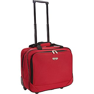 Travelers Club Luggage 17 Single Section Rolling Briefcase