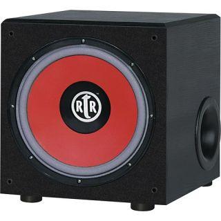 "BIC America RTR Series 12"" 200 Watt Powered Subwoofer Black RTR 12S"