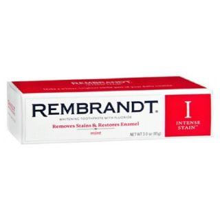 Rembrandt Intense Stain Whitening Toothpaste, Mint, 3.5 oz