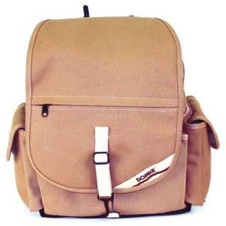 70202S Domke Domke F 2 Cotton Canvas Backpack, Sand