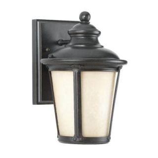 Sea Gull Lighting Cape May Collection 1 Light Outdoor Burled Iron Wall Lantern 88240D 780