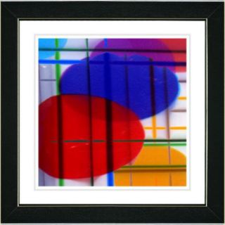Studio Works Modern ''Closed Circuit'' by Zhee Singer Framed Graphic Art