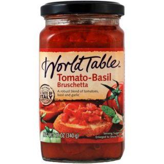World Table Tomato Basil Bruschetta, 12 oz