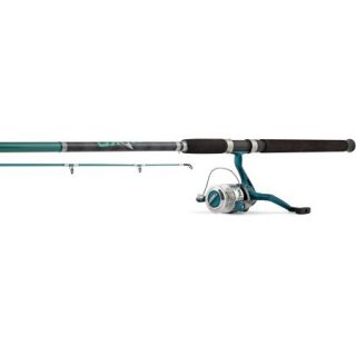 Hurricane Mako 8' 2 Piece Rod and Spinning 12 30 Size 55 Reel Combo