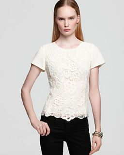 Rebecca Taylor Tee   Lace