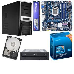 Intel P55 MB w/ i3 540,4GB,1TB,DVDRW,Case & PS