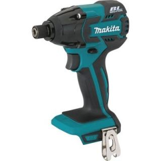 Makita 18 Volt LXT Lithium Ion Brushless 1/4 in. Cordless Impact Driver (Tool Only) XDT08Z