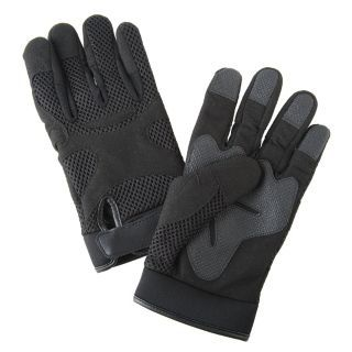 CONDOR Anti Vibration Gloves, Leather Palm Material, Black, S, PR 1   9CK47|9CK47   Grainger