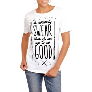 """Harry Potter Juniors """"Up To No Good"""" Graphic T Shirt"""