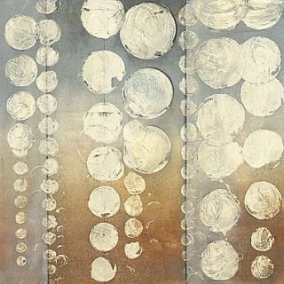 Art Effects Rain I by Jennifer Goldberger Painting Print on Wrapped Canvas