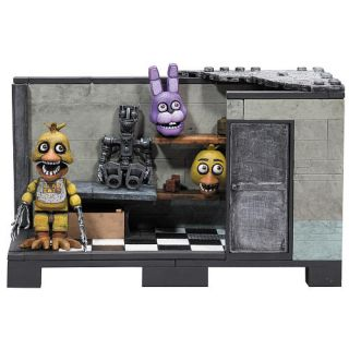 Five Nights at Freddy's Backstage Construction Set 153 Pieces    McFarlane Toys