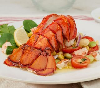 Absolutely Lobster (10) 6 oz. Lobster Tails with Butter —