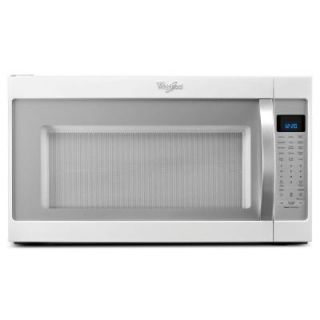 Whirlpool 2.0 cu. ft. Over the Range Microwave in White Ice with Sensor Cooking WMH53520CH
