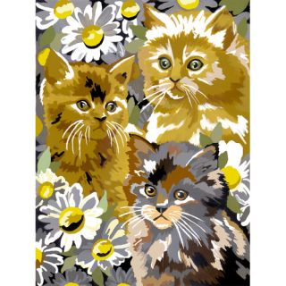 Royal & Langnickel Painting by Numbers Small Kitten/Daisy Junior Set