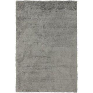 8' x 10' Plush Gods Gray Super Soft Hand Woven Area Rug