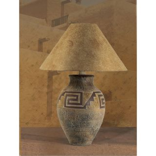 Indian Mesa 29 H Table Lamp with Empire Shade by Anthony California