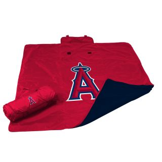 MLB Los Angeles Angels All Weather Fleece Blanket by Logo Chairs