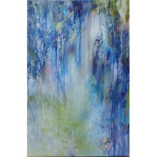 Buy Art For Less Wisteria Etude by Annie Flynn Painting Print on