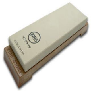 KING Japanese Ultra Fine 6000 Grit Sharpening Stone for Premium Knives