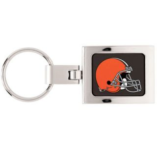 Cleveland Browns Historic Logo WinCraft Premium Metal Key Ring