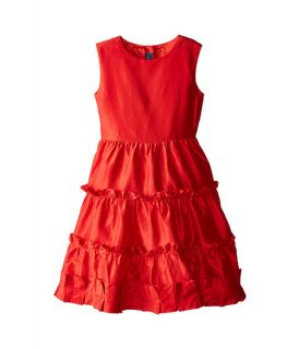 Oscar De La Renta Childrenswear Taffeta Multi Ruffle Dress Toddler Little Kids Big Kids Barn