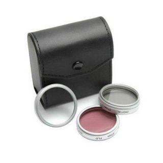 Crystal Optics 46mm Multi Coated Photo/Video 3 Filter Kit