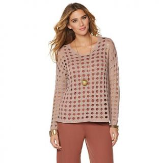MarlaWynne Stitched Sweater   8098980