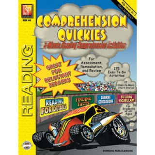 Comprehension Quickes Reading Book by Remedia Publications