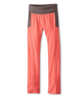 Puma Kids Foldover Logo Yoga Pant Big Kids Sunset Orange, Orange, Puma