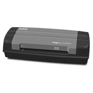 Ambir ImageScan Pro 687ix Duplex Card Scanner with AmbirScan Software DS687IX AS