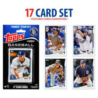 San Diego Padres 2014 Topps Factory Sealed Special Edition 17 Card Team Set