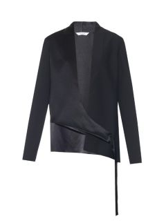 Shell silk satin jacket  Dion Lee US