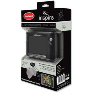 Hahnel Inspire Wireless Remote with Display for Ni HL HWINSPIREN