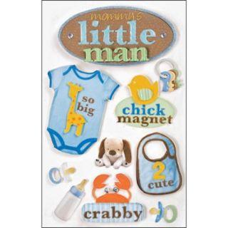 3 D Stickers Little Man