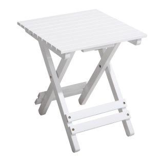 White Folding Side Table   Shopping Hip O