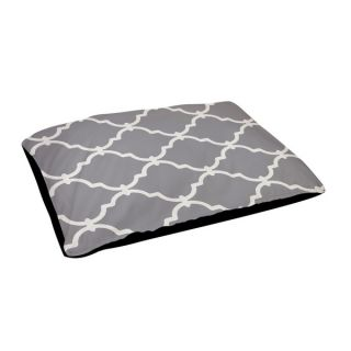 Indoor 18x28 inch Zig zag Geometric Pattern Dog Bed