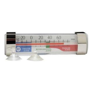 TAYLOR 6DKD5 Thermometer, Refrigerator,  20 to 60F