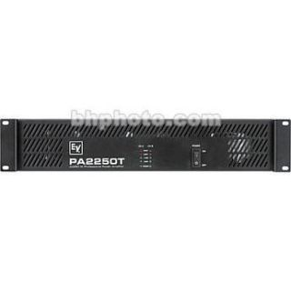 Electro Voice PA2250T   2 x 270W Power Amplifier F.01U.120.174