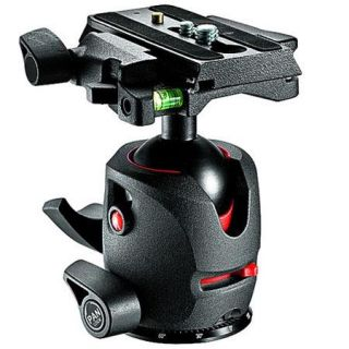 MH054M0 Q5 Manfrotto Manfrotto MH054M0 Q5 Magnesium Ball Head with Q5 Quick Release, Supports 22 lbs., Smoke