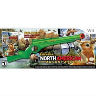 Activision Cabela's North American Adventures 2011 With Gun First Person Shooter   Complete Product   Standard   Retail   Wii (76431)