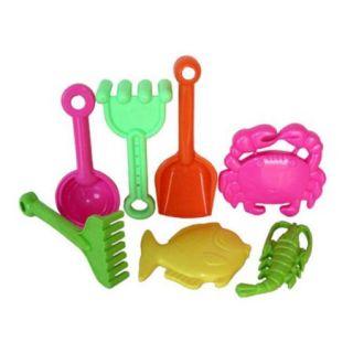 Sunshine Trading BT 23 Tool Sand Toy   7 Piece Set