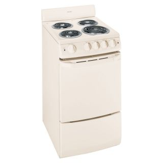 Hotpoint Freestanding 2.4 cu ft Electric Range (Bisque) (Common: 20 in; Actual: 20 in)