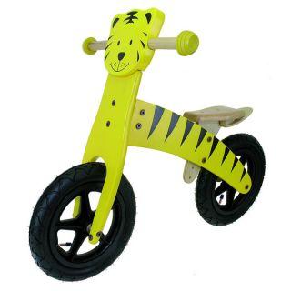 Wave Kids 12 inch Wooden Tiger Balance Bike   16928056